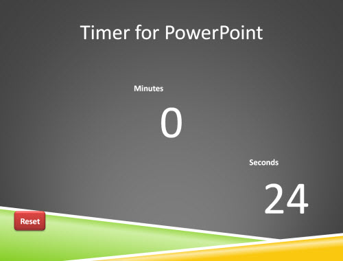 create timer with powerpoint the art of powerpoint ing