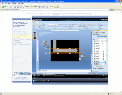 Animations For Powerpoint. PowerPoint 2007 Training by